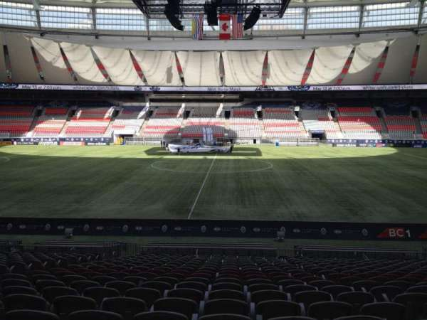 BC Place, section: 241, row: U, seat: 8