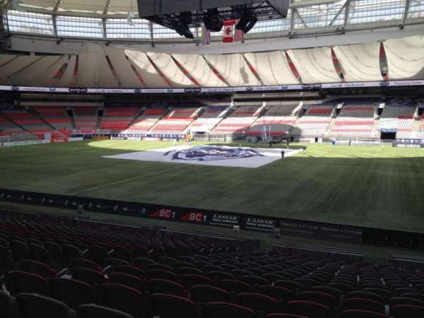 BC Place, section: 239, row: U, seat: 8