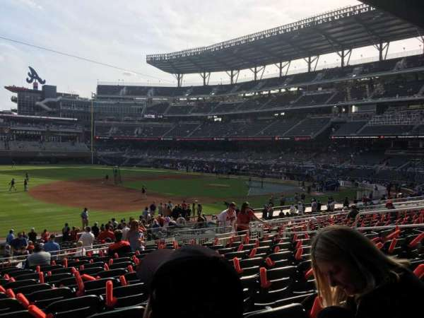 Truist Park, section: 137, row: 12, seat: 13