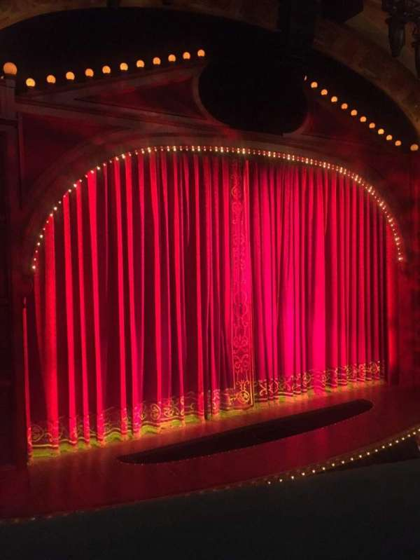 Shubert Theatre, section: Mezzanine L, row: A, seat: 11