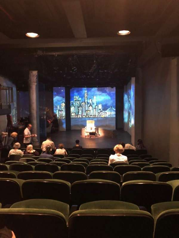 The Irish Repertory Theater, section: Orchestra, row: L, seat: 5