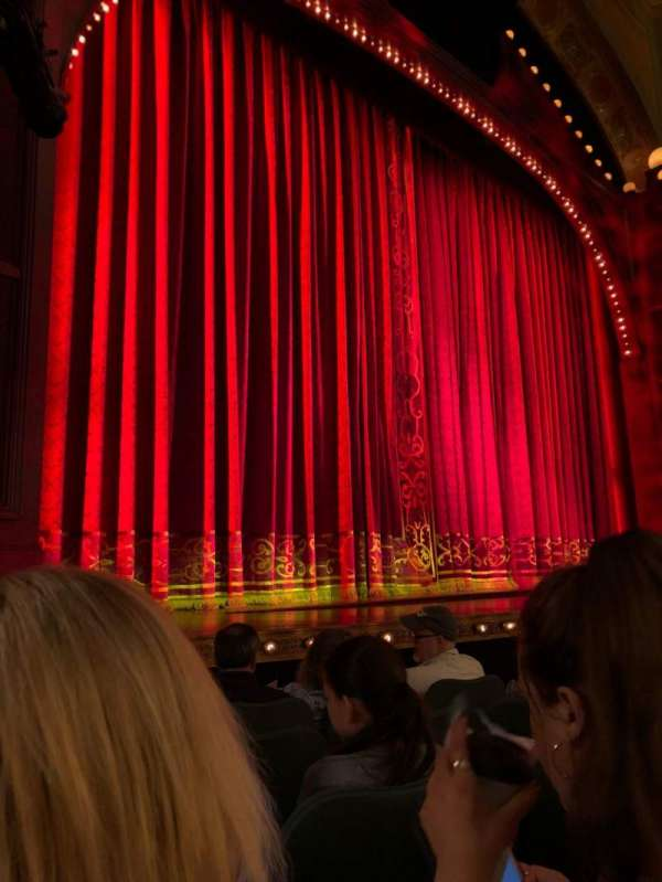Shubert Theatre, section: Orch, row: F, seat: 13