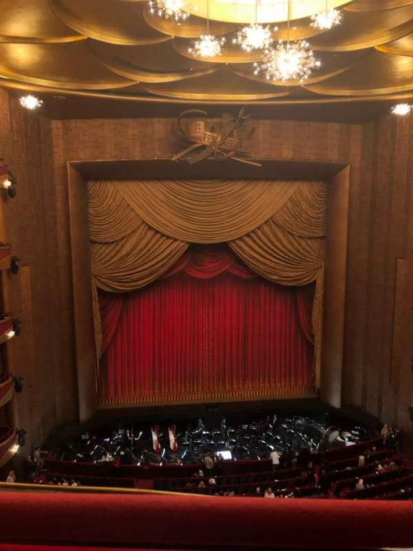 Metropolitan Opera House - Lincoln Center, section: Balcony, row: A, seat: 115