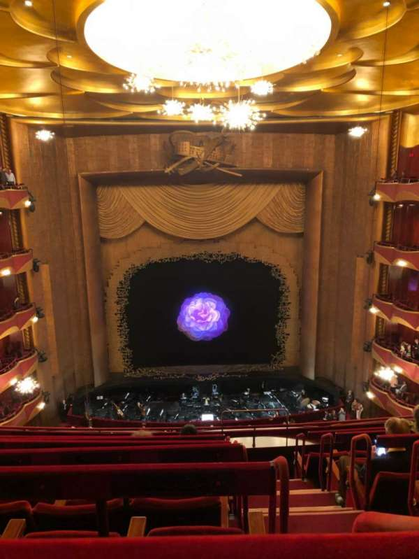 Metropolitan Opera House - Lincoln Center, section: Balcony, row: G, seat: 103