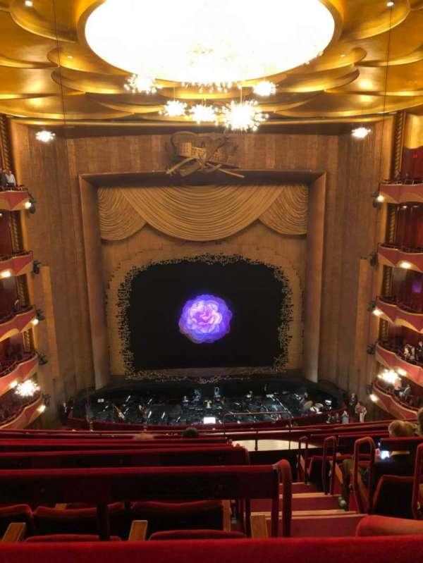 Metropolitan Opera House - Lincoln Center, section: Balcony, row: G, seat: 103