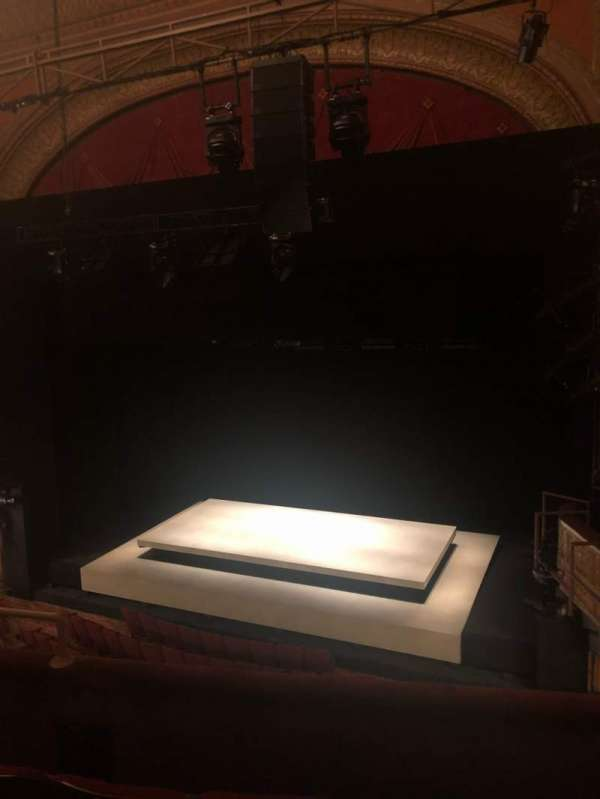 Ethel Barrymore Theatre, section: Front Mezzanine R, row: D, seat: 10