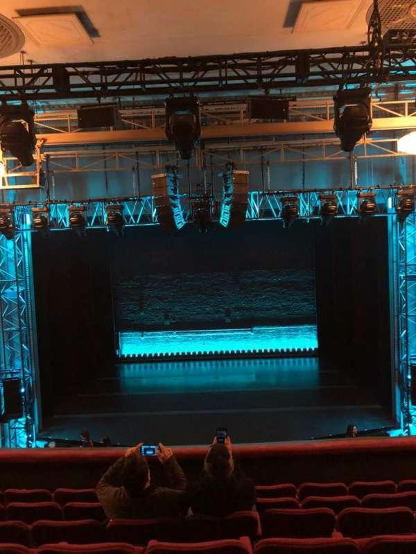 Broadhurst Theatre, section: Mezzanine C, row: G, seat: 108