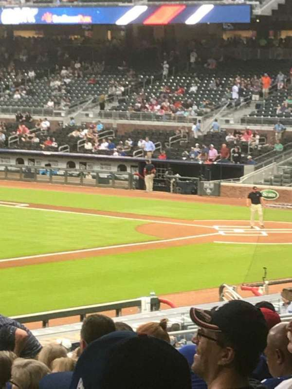 SunTrust Park, section: 137, row: 14, seat: 1