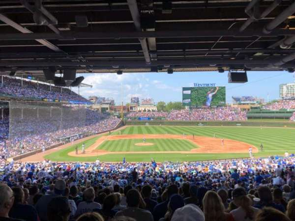 Wrigley Field, section: 222, row: 15, seat: 21