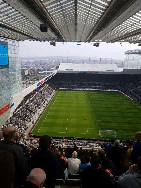 St James Park, section: L7L, row: T, seat: 528
