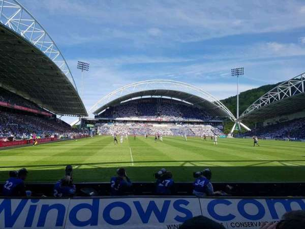 John Smith's Stadium, section: CL05, row: C, seat: 113