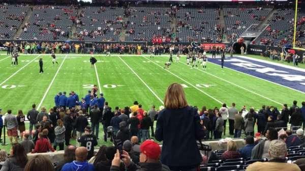 NRG Stadium, section: 124, row: R, seat: 19
