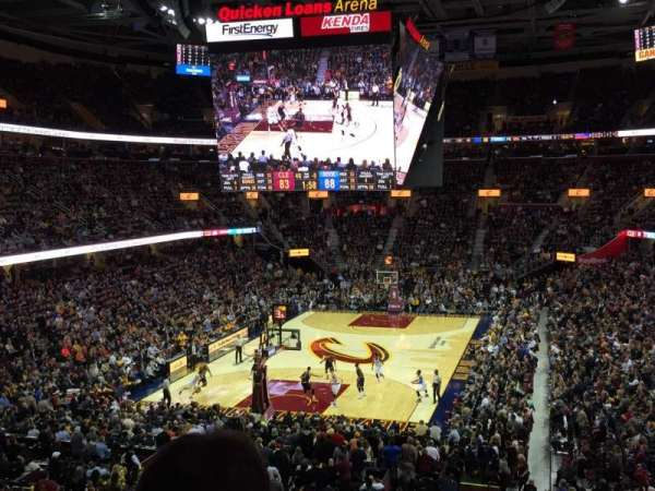 Quicken Loans Arena, section: 101, row: 24, seat: 14