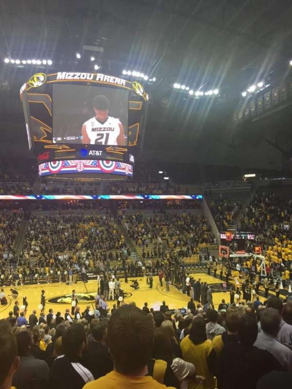 Mizzou Arena, section: 115, row: 24, seat: 17