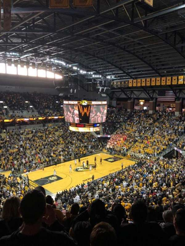 Mizzou Arena, section: 212, row: 8, seat: 12