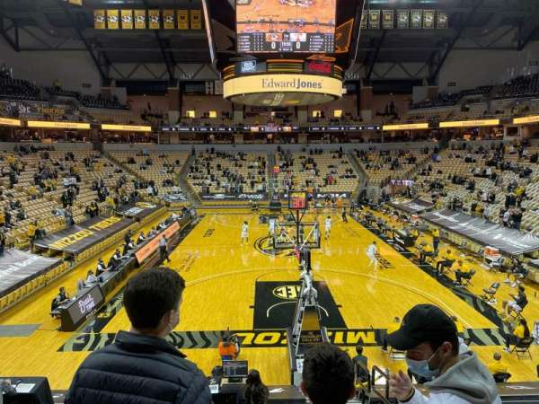 Mizzou Arena, section: 120, row: 14, seat: 2