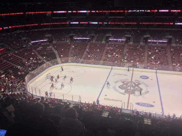 BB&T Center, section: 301, row: 5, seat: 8