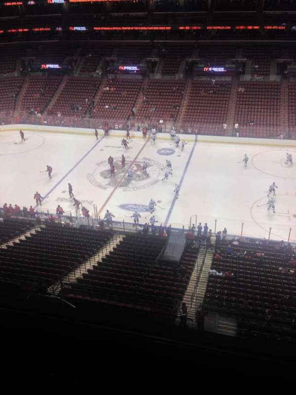 BB&T Center, section: 334, row: 2, seat: 1