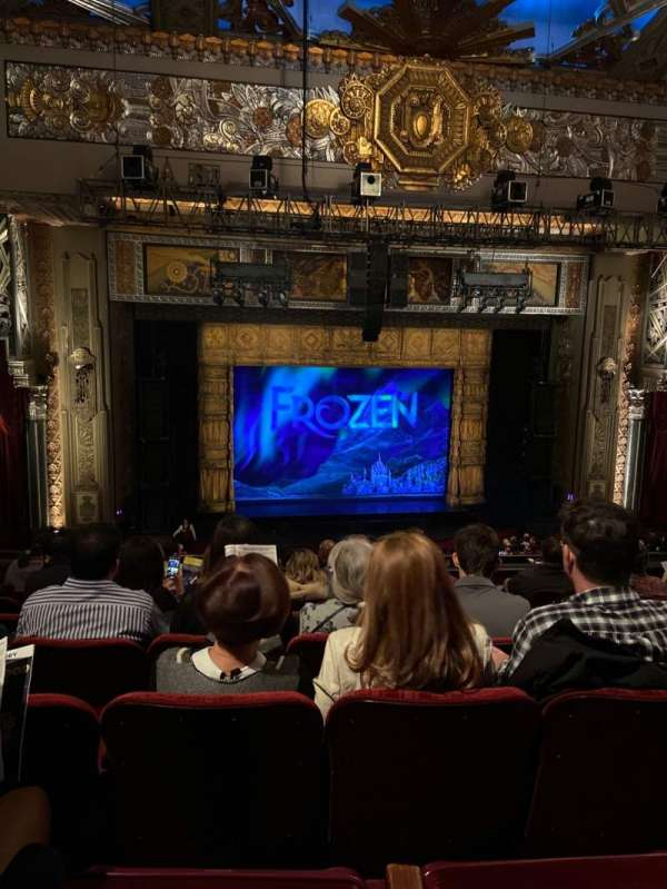 Hollywood Pantages Theatre, section: Mezzanine LC, row: H, seat: 3