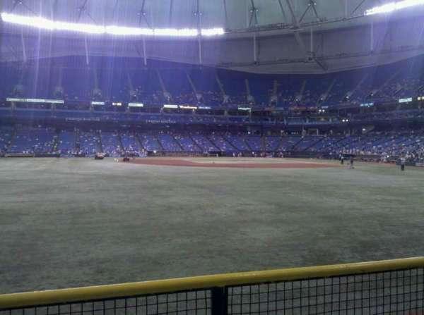 Tropicana Field, section: 147, row: v, seat: 15