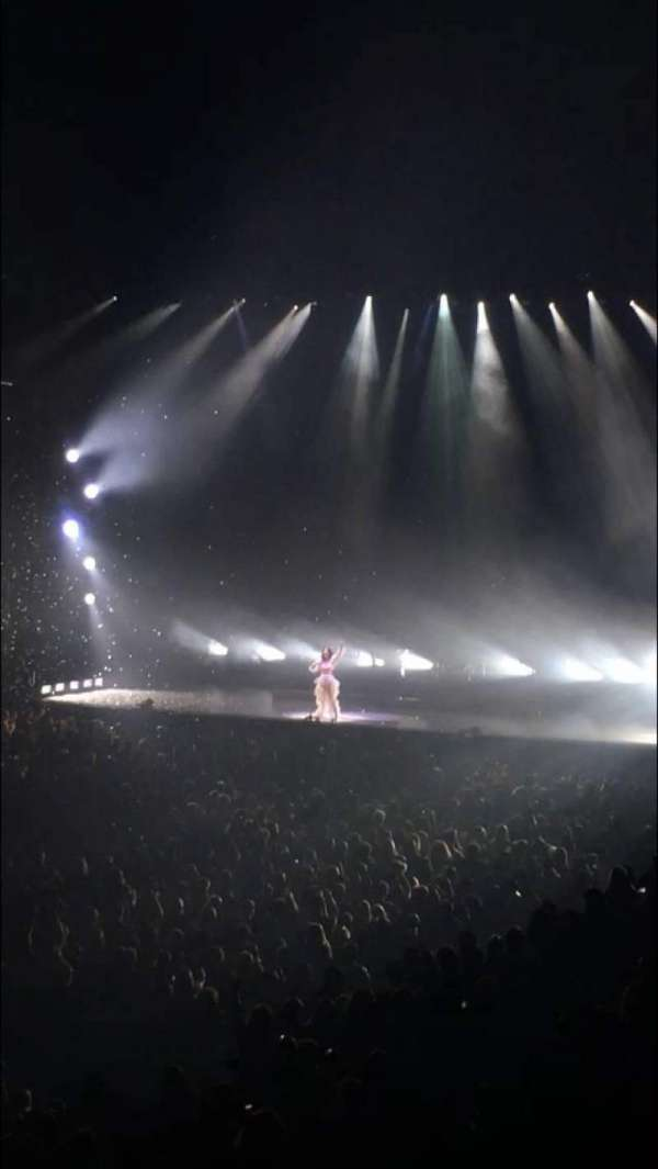 Oakland Arena, section: 105, row: 20