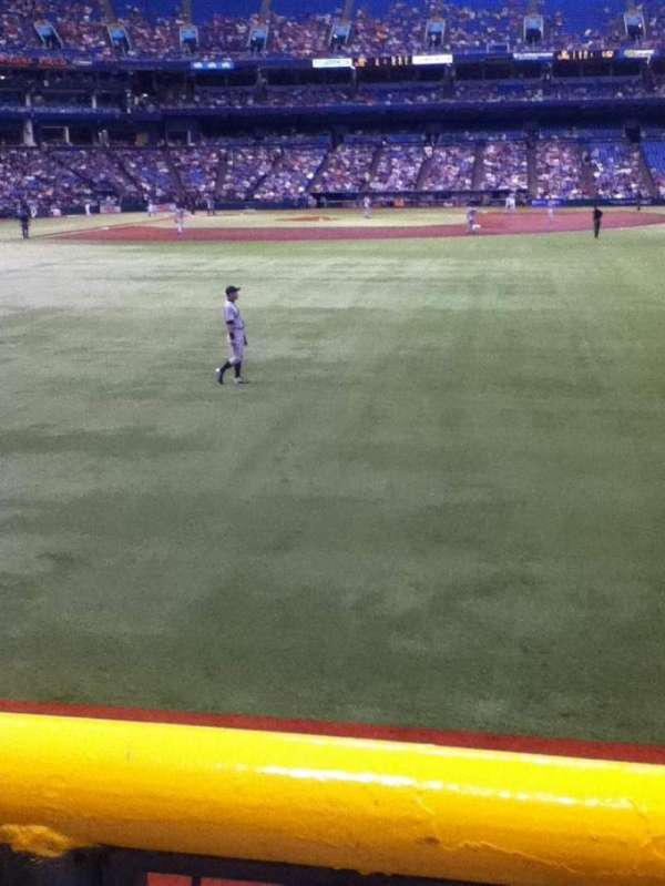 Tropicana Field, section: 144, row: T, seat: 21