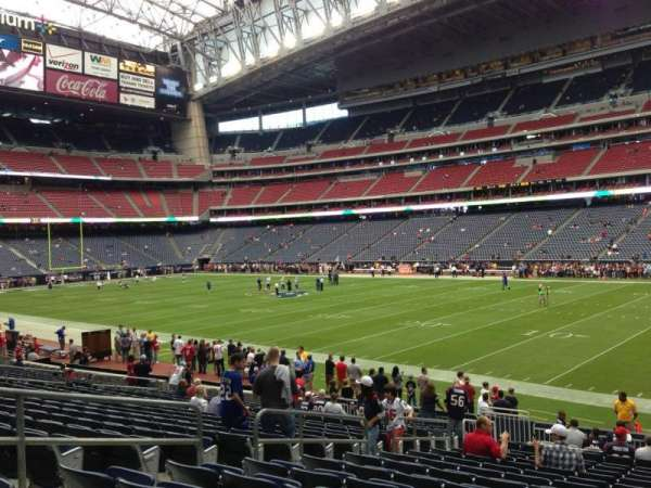 NRG Stadium, section: 122, row: T, seat: 16
