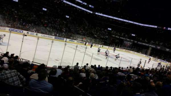 Barclays Center, section: 12, row: 13