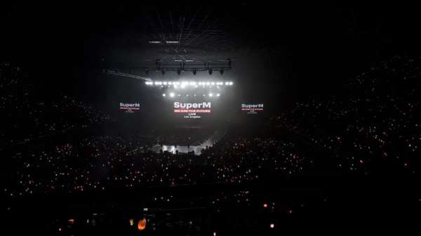The Forum, section: 201, row: 1, seat: 3