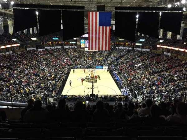 Lawrence Joel Veterans Memorial Coliseum, section: 221, row: N, seat: 9