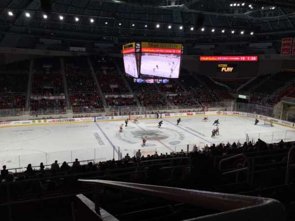 Bojangles' Coliseum, section: 121, row: Ff, seat: 6