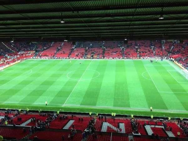 Old Trafford, section: N4406, row: 2, seat: 63