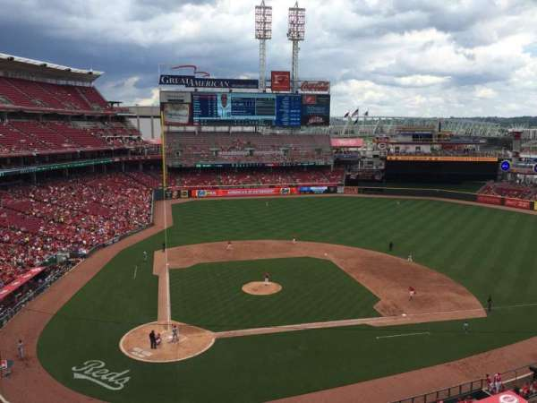 Great American Ball Park, section: 427, row: A, seat: 1