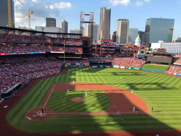 Busch Stadium, section: 345, row: 1, seat: 7
