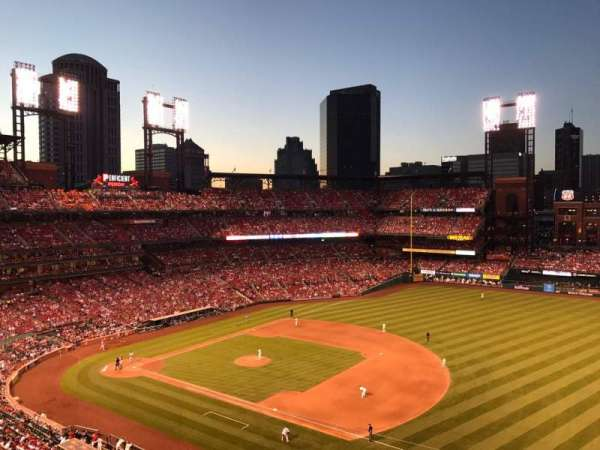Busch Stadium, section: 339, row: 1, seat: 8