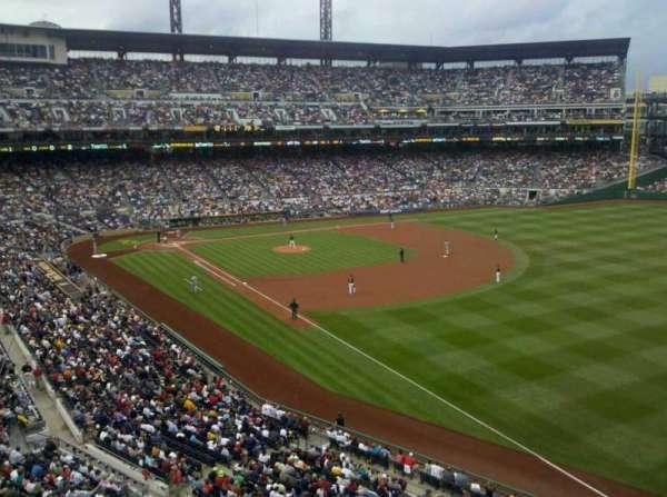 PNC Park, section: 202, row: a
