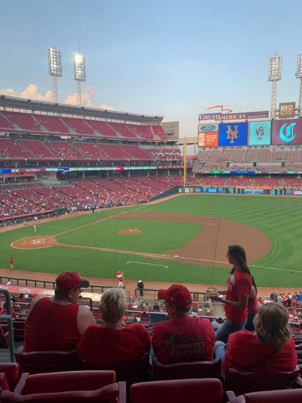 Great American Ball Park, section: 304, row: H, seat: 14