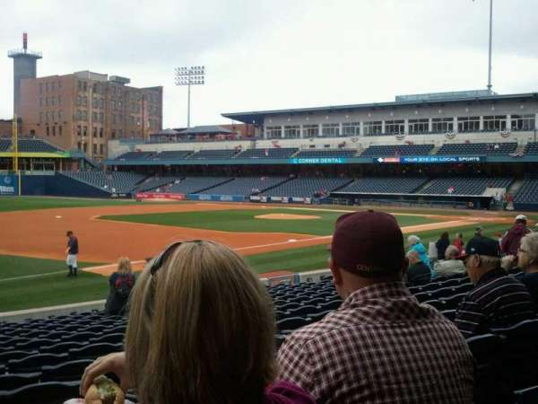 Fifth Third Field, section: 104, row: q, seat: 22