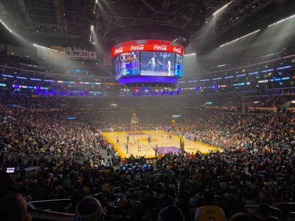 Staples Center, section: 209, row: 3, seat: 4