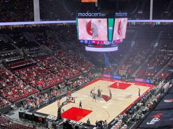 Moda Center, section: 307, row: E, seat: 2