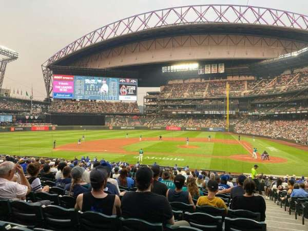 T-Mobile Park, section: 136, row: 29, seat: 1