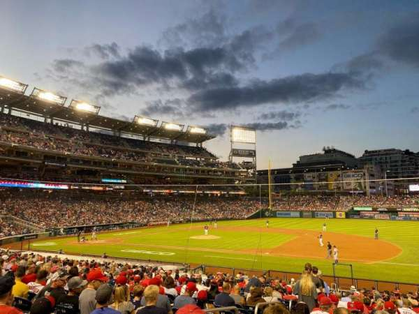 Nationals Park, section: 131, row: EE, seat: 17