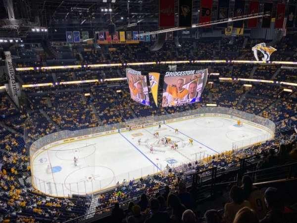 Bridgestone Arena, section: 223, row: J, seat: 16