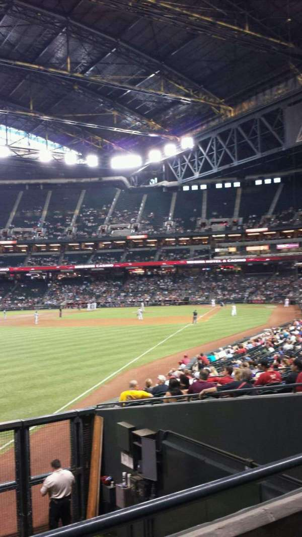 Chase Field, section: 136, row: 26, seat: 17