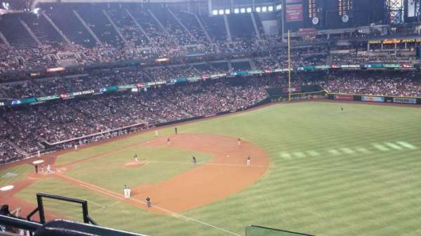 Chase Field, section: 304, row: 8, seat: 15