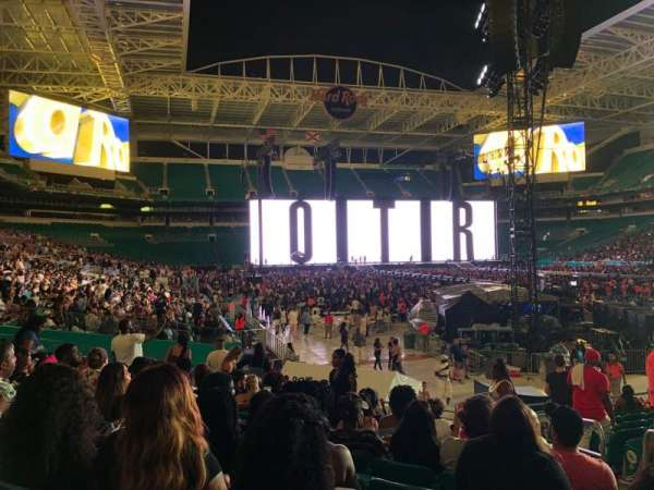 Hard Rock Stadium, section: 138, row: 13, seat: 14