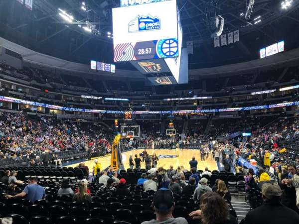Pepsi Center, section: 110, row: 5, seat: 7
