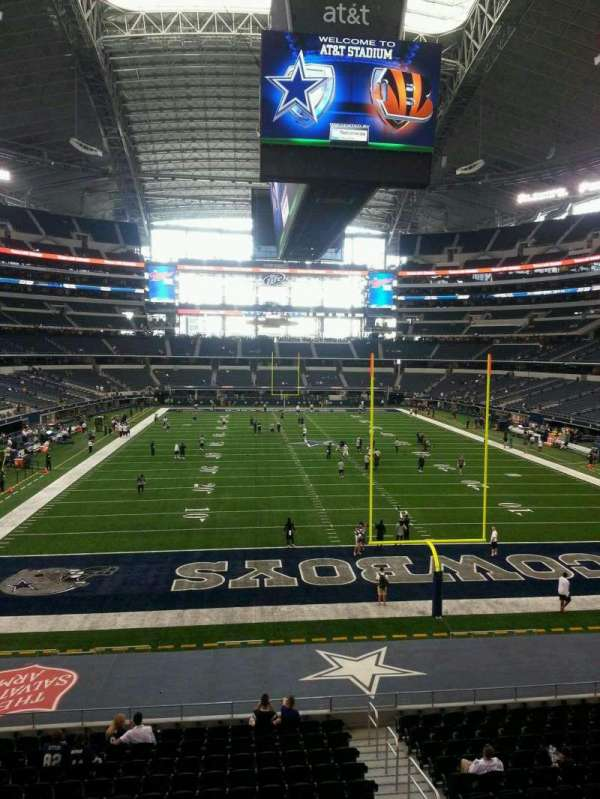 AT&T Stadium, section: 248, row: 1, seat: 18