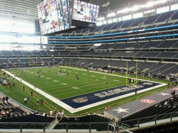 AT&T Stadium, section: 202, row: 9, seat: 3