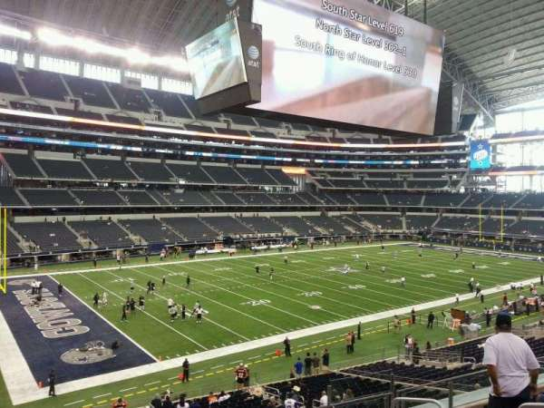 AT&T Stadium, section: 241, row: 7, seat: 7